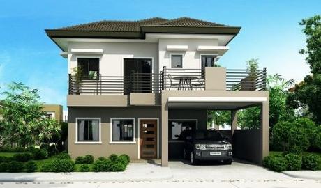 Mẫu biệt thự mini có thiết kế đơn giản, kinh phí xây dựng vừa phải